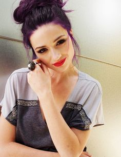Purple hair might be next in line. I don't know if I'm over my dark green hair yet though.