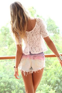 DIY shorts are a must for this summer