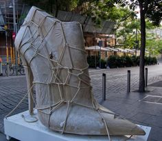 """Shoe Street Art"", Madrid"