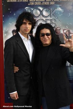 Nick and Gene Simmons