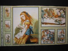 Alice in Wonderlan Panel. I would love to have this.