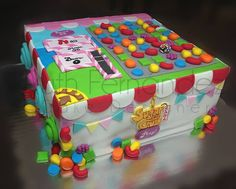 Candy Crush Cake by Ruth Fernandez