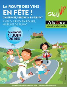 Slow Up sur la Route des Vins d'Alsace, le 1 juin 2014