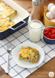 Lighter Sausage and Egg Breakfast Casserole Recipe from www.a-kitchen-addiction.com