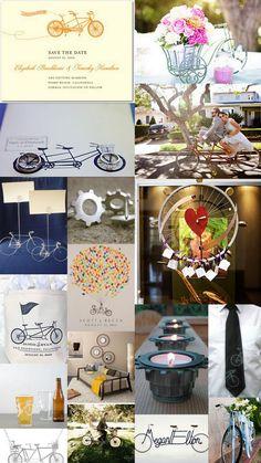 bike themed wedding? :)
