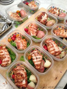 Honey We're Healthy: Healthy Meal Prep