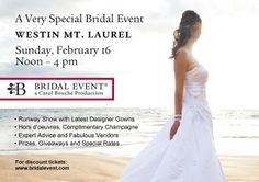NJ Bridal Shows & Events on Pinterest   Bridal Show, Door ...