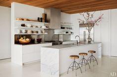 sleek, minimalist kitchen