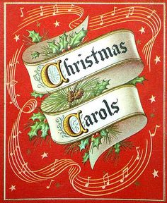 1920 Christmas song book by goddess of chocolate, via Flickr