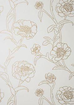 Top Floral Apartment Temporary Wallpaper | Mod Retro Vintage Wall Decor | ModCloth.com
