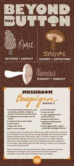 Move beyond the basic mushroom and explore other varieties! #holiday #sides #recipe