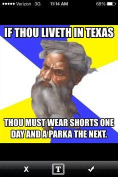 texas weather | funny ha ha | pinterest | texas, weather