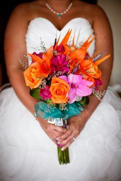 destination wedding flower, destination wedding, tropical flowers, Dreams, Dreams Riviera Cancun, Cancun wedding, Mexico Wedding