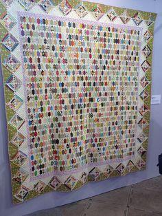 flickr, hexagon scrap, quilt festiv, sewblossomheart, quilts, elong hexagon, scrap quilt, hexagons, hexi