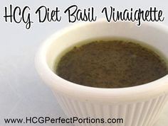 One of the best known dressing recipes for the HCG Diet!!!! Love it!!!
