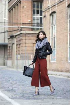How to Wear Culottes Pants Right Ways | KSISTYLE! | Mode Trends