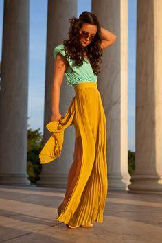 maxi dresses, color combos, fashion blogs, mint, dress up