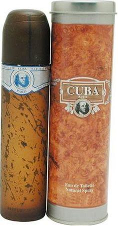 Cuba Blue By Cuba For Men. Eau De Toilette Spray 3.4 Ounces $9.25 (save $30.75) + Free Shipping