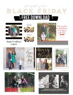Free Card Templates from photographie j