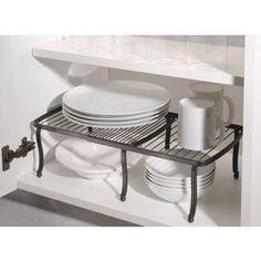 InterDesign York Lyra Expandable Counter or Pantry Shelf