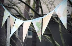 Map bunting