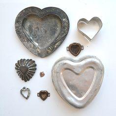 Vintage hearts....