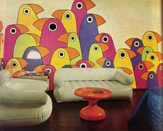 Home decor in the '70s was fearless.