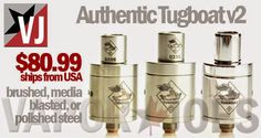 Vapor Joes - Daily Vaping Deals: VERSION 2: THE LEGIT TUGBOAT GETS AN UPGRADE - $80...