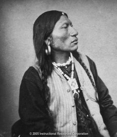 """Modoc Chief Kintpuash, """"Captain Jack"""", who led the Modoc during the Modoc War with the US."""