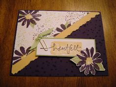 """""""One page wonders."""" 9 cards from one decorative sheet. (Hers is stamped.)"""