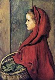 Millais.... Red Ridinghood