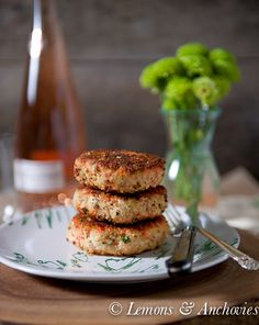 Salmon Cakes - There