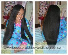 little girls, bead, braid, long hair, healthy hair, naturally curly hair, hairstyl, textured hair, black girls