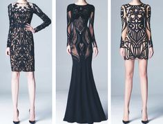 zuhair murad pre-fall 2014. I like the one on the far right the best