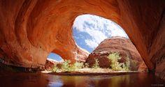 Jacob Hamblin Arch  Escalante, Utah by Jack Braure