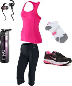 """""""Workout Gear"""" by stephaniegoods on Polyvore"""