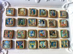 Amazing Medieval manuscript cookies