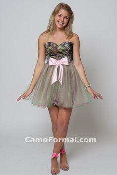 Image detail for -... for: 'camo Wedding Dresses' Camouflage Prom Wedding Homecoming Formals