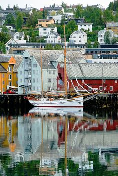 Northern Norway: Tromso waterfront