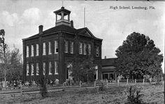 Old Leesburg school - Leesburg, Florida