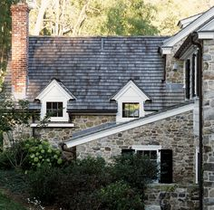 Peter-zimmerman-architects-architecture-federal  Shingles with stone like ours. Black shutters.