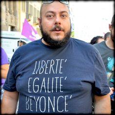 Liberté Egalité Beyoncé!