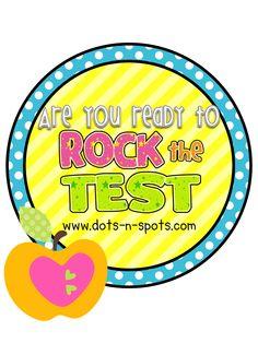 tCAP--Rock the Test Ideas for Test Prep & motivation