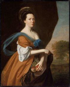 John Singleton Copley Mrs. James Smith (Elizabeth Murray) 1769 MFA 42.463