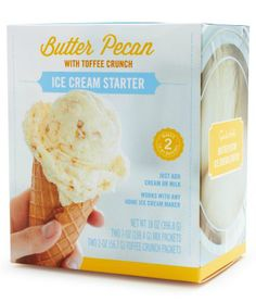 Butter Pecan Ice Cream Starter  http://rstyle.me/n/i6hkspdpe
