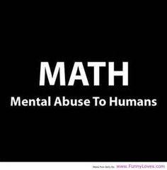 I don't math well