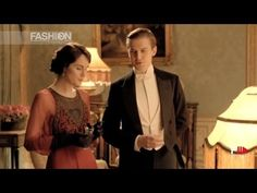 "▶ ""DOWNTON ABBEY Style"" Serial Fashion Fall 2013 by Fashion Channel - YouTube"