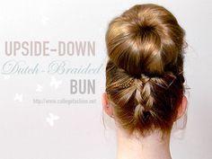 Sponsored: Braided Bun Tutorial with Goody & U by Kotex #ubykgoody