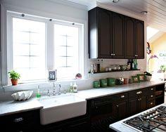 black kitchen cabinets 2