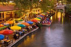 San Antonio Riverwalk. Awesome place to visit favorit place, dream places, antonio riverwalk, walks, san antonio, travel, texas homes, rivers, river walk
